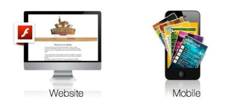 Wix Flash website options